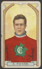 1911-12 C55 IMPERIAL TOBACCO HOCKEY #43 EUGENE PETE PAYAN ROOKIE CARD CANADIENS