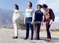 The Doors Jim Morrison 1968 rare 12 x 18 photo poster, concert tour negative