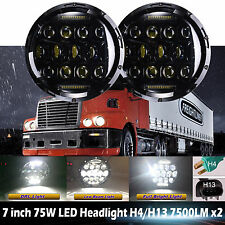 For Freightliner Century Lights 7inch LED Projector Headlight For Pre 2005 Model