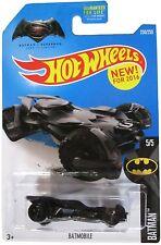 Hot Wheels 2016 Batmobile NIB Mattel NIP 5/5 230/250 Batman V Superman Justice