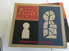 Assembly Line People Programme : Subdivision Of Being CD (2002) MINT