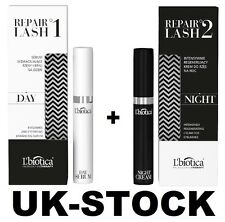 L'BIOTICA REPAIR LASH 1 EYELASHES AND EYEBROWS ENHANCING SERUM & 2 REGENERATING