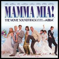 MAMMA MIA - MOVIE SOUNDTRACK CD MERYL STREEP~PIERCE BROSNAN Songs Of ABBA *NEW*
