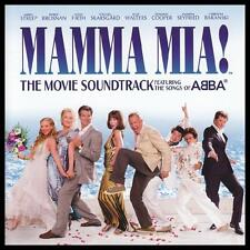 MAMMA MIA - MOVIE SOUNDTRACK CD MERYL STREEP~PIERCE BROSNAN Songs Of ABBA *NEW*