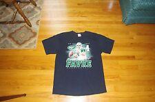 Men's Black Brett Favre New York Jets T-Shirt Size L