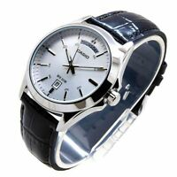 Casio New Original MTP-1370L-7A Analog Mens Watch Leather Band WR 50M MTP-1370