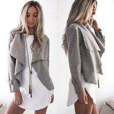 Fashion Women Ladies Long Sleeve Cardigan Casual Blazer Suit Jacket Coat Outwear