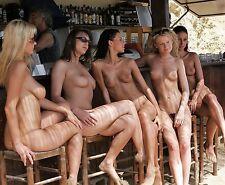 HOT GIRLS ~ MICRO BIKINIS ~ A4 SIZE GLOSSY PHOTO