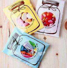 15 Self Sweet Jar Cellophane Homemade Party Favor Gift Bags 10 x 7cm