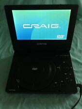 Craig 7inch TFT Portable DVD/CD Player With Remote Control & Manual