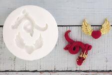 Stampo in silicone, Dragon, ALATA Cuore Gotico Food Grade ellam Sugarcraft M046