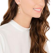 NWT SWAROVSKI VERSATILE Gangster Pierced Earring Jackets Rose Gold 5265341