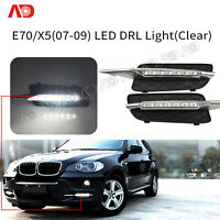For 2007 2008 2009 BMW E70 X5 LED DRL Daytime Running Lights Driving Lamps 2PCS