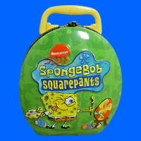 SpongeBob SquarePants Tin Cartoon Children Metal Mini Candy Container Easter Egg
