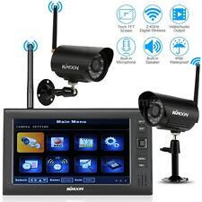 "KKmoon Wireless 2.4GHz 7"" Monitor CCTV DVR System Outdoor Security Camera A7Z3"