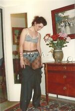 Semi Nude (4 x 6) Color Repro Photo- Woman takes off Skirt- Panties- Lingerie