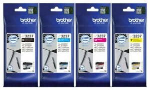 Original Brother LC3237 4-Pack C/M/Y/BK Printer Inkjet Cartridges 2022 VAT.Inc