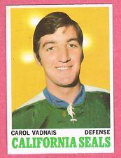1970-71 70-71 O-PEE-CHEE OPC #70 Carol Vadnais SET BREAK