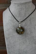 Runde Echtschmuck-Halsketten Turmalin