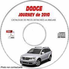 JOURNEY 10 - Catalogue Pieces CDROM DODGE Anglais Expédition - 3 euros, Support