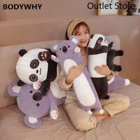 Cute Panda Plush Toys Koala Animals Stuffed Animals Plush Toys Plush Long Pillow
