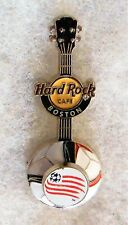 HARD ROCK CAFE BOSTON 3D MLS SOCCER GUITAR SERIES REVOLUTION PIN # 89701