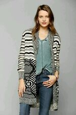 NWOT Urban Outfitters Ecote Mix Intarsia Open-front cardigan Size XS