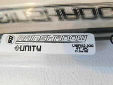 Rainshadow UNITY RX6 UNIF662-2OG 6'6 2 wt. 2 pc. fly rod blank for rod building