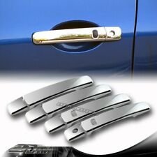 ABS Chrome Adhesive Door Handle Covers Caps With Key Hole For 08-13 Nissan ROGUE