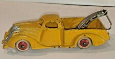 Vintage Hubley 1930's USA  Cast Iron Tow Truck Modle 2225