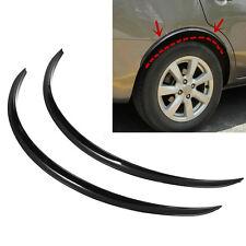 2x Car Wheel Arch Guard Trim Anti-rub Fender Flare Wheel Eyebrow Protector Strip