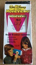 Visor de película de Disney Super 8 color Cassette 7620 Herbie Rides Again