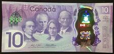 Banknote - 2017 Canada 150th Anniversary Commemorative $10 Dollar Polymer, UNC