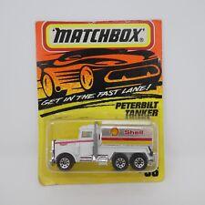 Vintage Matchbox Peterbilt Tanker Shell #56 1993 Diecast Toy Original Packaging