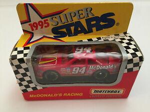 1995 Matchbox Super Stars 1:64 #94 Bill Elliott McDonald's Ford Diecast