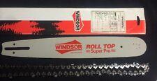 "15"" WINDSOR Bar .325 58G & Chain - Husqvarna, Echo, Poulan, Tanaka CHAINSAWS etc"