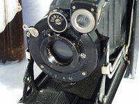 rare Zeiss Ikon IKONTA Folding Camera Novar Anastigmat 1:6 .3 F = 10.5 No: