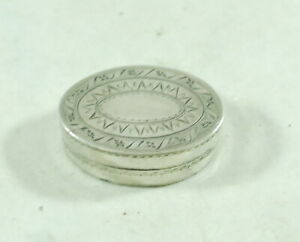 Georgian Silver Vinaigrette IS London 1800 AF FCZX