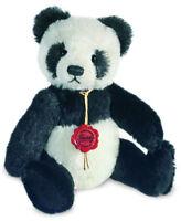 Panda Teddy Bear by teddy Hermann - limited edition - 24cm - 11925