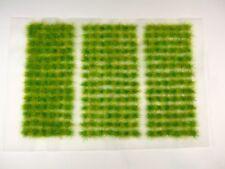 GREEN GRASS Self-Adhesive 6mm TUFTS 266pcs/sheet UK Quality w Fast USA Shipping!