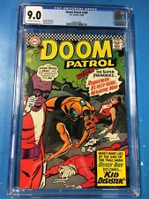 Doom Patrol #108 1966 CGC 9.0 VF/NM OW/W Pages Cheap High Grade DC Comic