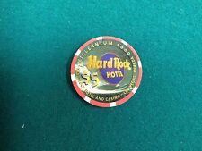 Hard Rock Hotel and Casino $5.00 Millennium 2000 Casino Chip Las Vegas Nevada