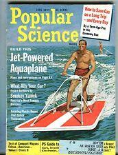 Popular Science Magazine June 1964 Jet-Powered Aquaplane 062317nonjhe