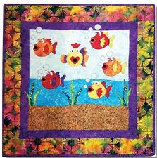 New Applique Wallhanging Crib Quilt Pattern Under The Sea 36 X 36