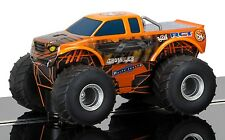 C3779 Scalextric SLOT CAR ARANCIO MONSTER TRUCK Growler livrea Giocattolo Regalo Nuovo UK