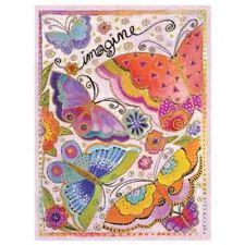 "Laurel Burch Birthday Card - ""Imagine a World"" With Envelope"