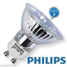 5 x Bombilla Halogena Philips GU10 50w 230V 40º de apertura, Dicroica 50mm 2800
