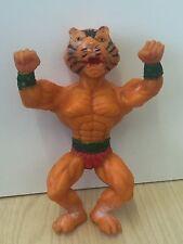 VINTAGE IN GOMMA TV TOY Figura CAT 13 CM RARA
