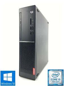Lenovo V520S - 10NM003BUK - 500GB HDD, Intel Core i3-7100, 4GB RAM - Win 10 Home