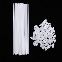 20pcs White Balloon Sticks Holders with Cups for Wedding Party Decoration New